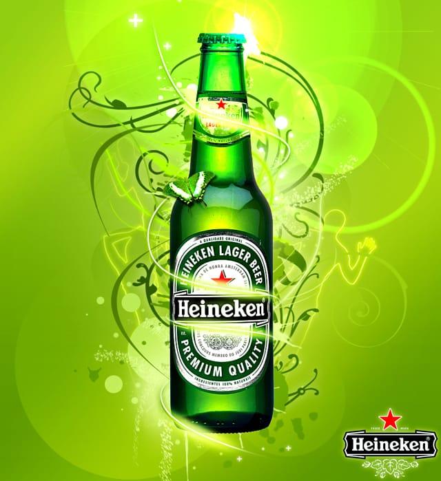 Cerveza Heineken. Ficha de Cataclickalplato | clickalplato